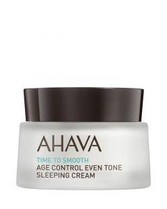 AHAVA Control Even Tone Sleeping Cream, 50 ml.