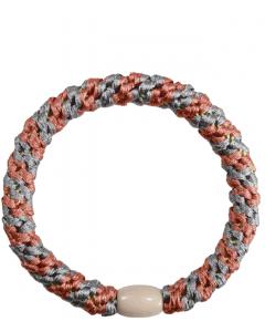 JA•NI Hair Accessories - Hair elastics, The Coral & Silver