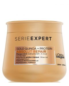 L'Oréal Serie Expert Golden Repair Gold Masque, 250 ml.