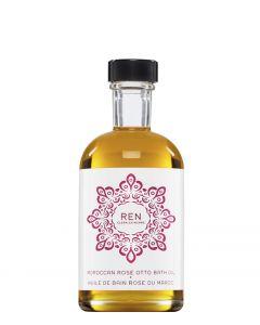 REN Skincare Moroccan Rose Otto Bath Oil, 110 ml.