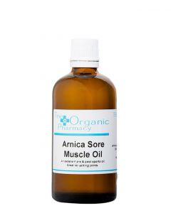 The Organic Pharmacy Arnica Sore Muscle Oil, 100 ml.