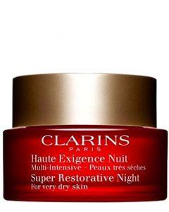 Clarins Super Restorative Night Cream Dry Skin, 50 ml.