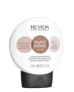 Revlon Nutri Color Filters 821 Silver Beige, 240 ml.